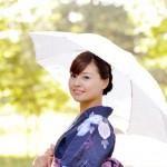 日傘のUVカットと遮光の効果は?色と選び方の注意点