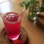 シソジュースの効能と作り方 泡だったのは飲める?