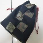 信玄袋の作り方 簡単でリバーシブルだと普段使いにも!